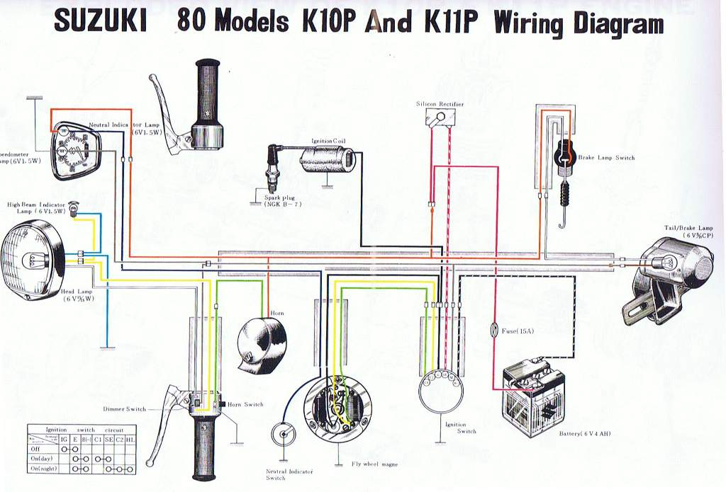 K10  K11 Wiring Diagram