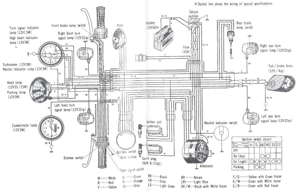 Suzuki_T250_T350_Wiring_Diagram_Schematic2 t250 t350 service manual suzuki v100 wiring diagram at bayanpartner.co