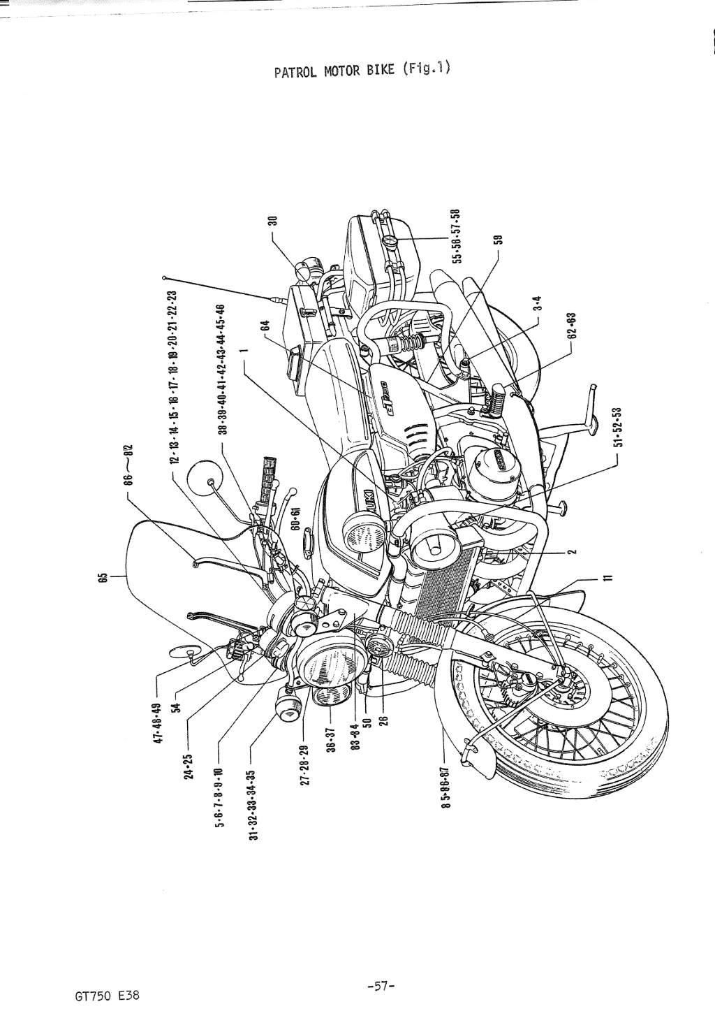 A Field Guide To The Suzuki Gt750 1995 Buick 3 1l Engine Diagram E38 Formosa Taiwan Parts Manual