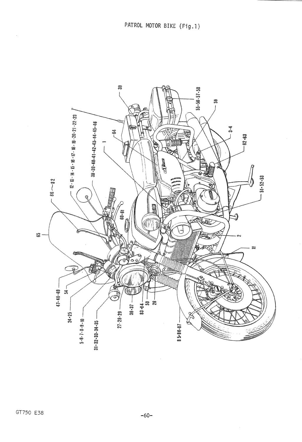 A Field Guide To The Suzuki Gt750 2007 Jeep Wrangler Engine Parts Diagram Return