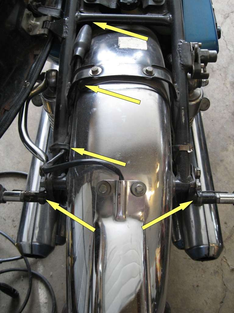 A Field Guide To The Suzuki Gt750 Fuel Tank Wire Harness There