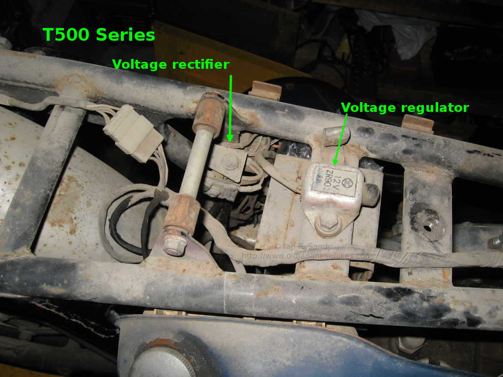 Suzuki T Gt500 Field Guide T500 Wiring Diagram The