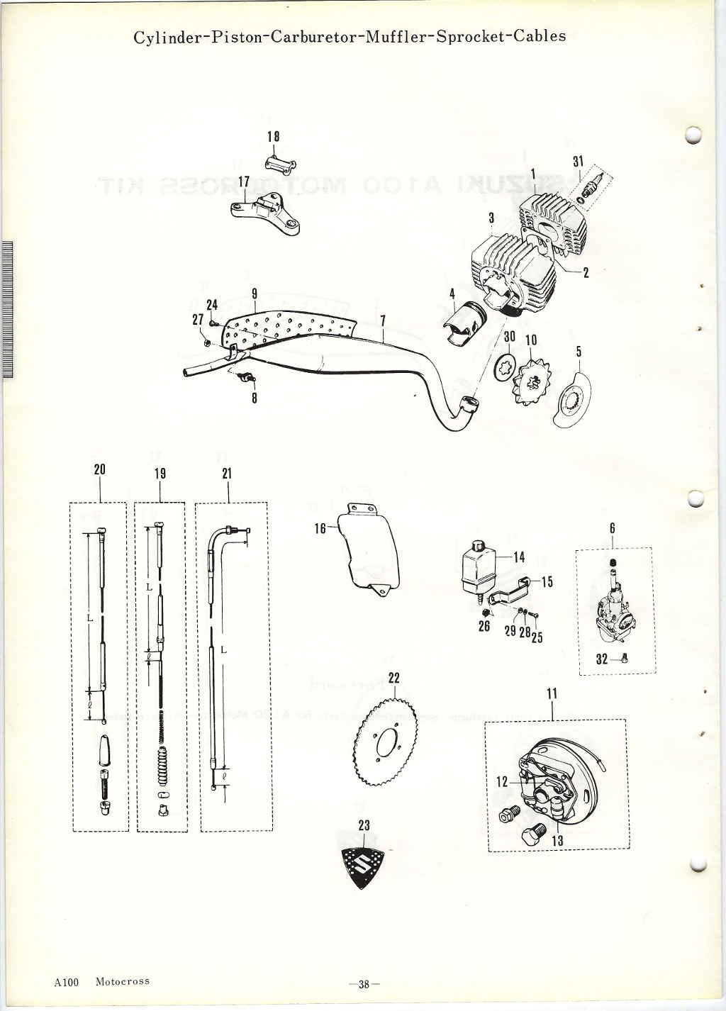 Suzuki A100 Wiring Diagram Images