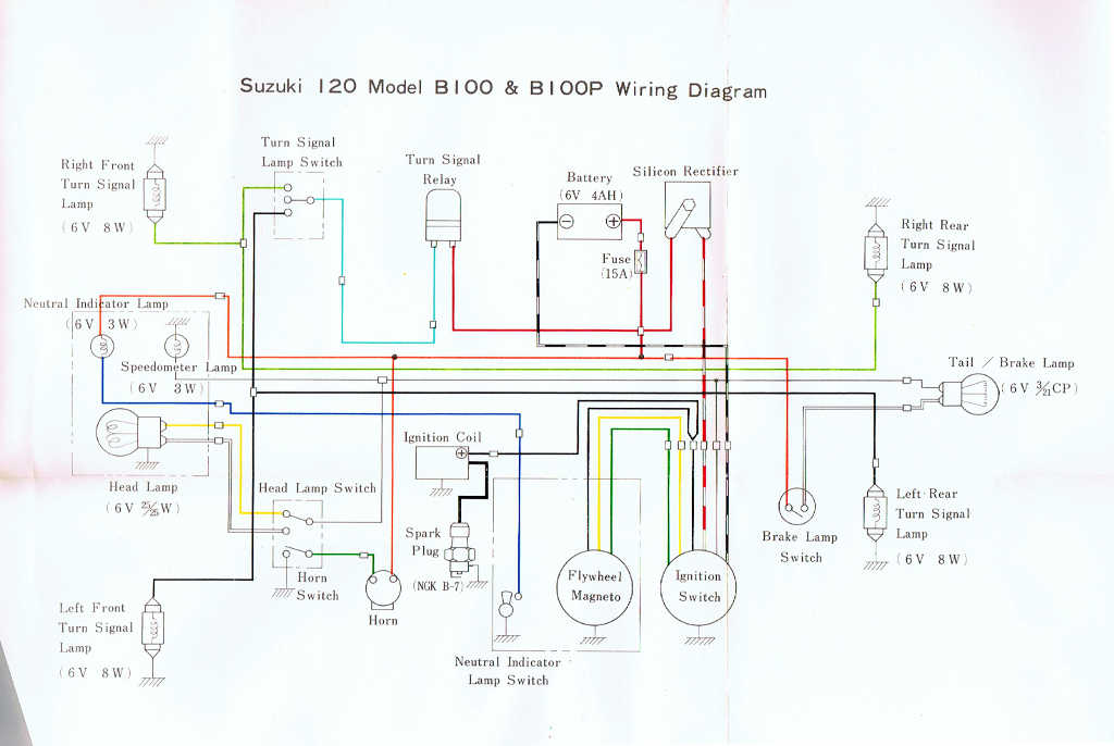Suzuki K15 Wiring Diagram Wiring Diagrams The