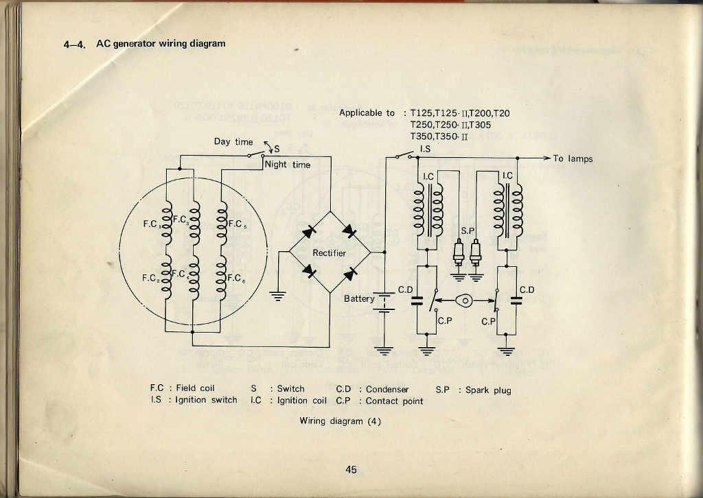 Manuals Home Page 197273 Service Data Manual: Suzuki U50 Wiring Diagram At Anocheocurrio.co