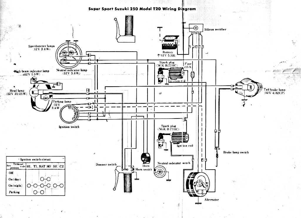 T20 Wiring Diagram