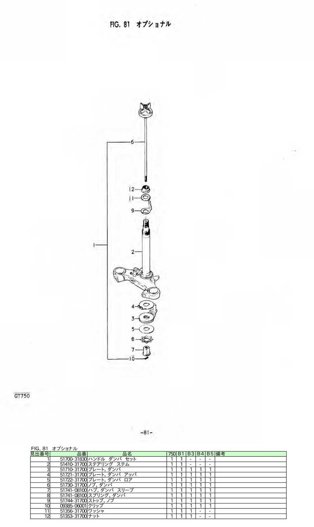 Gt750 Japan Market Parts Manual 11 1v Wiring Diagram