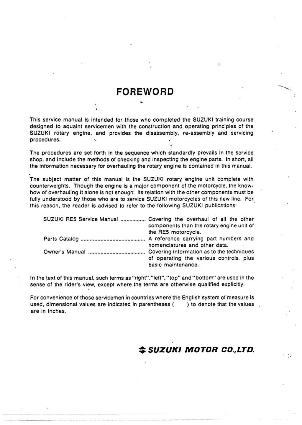 data manual engine
