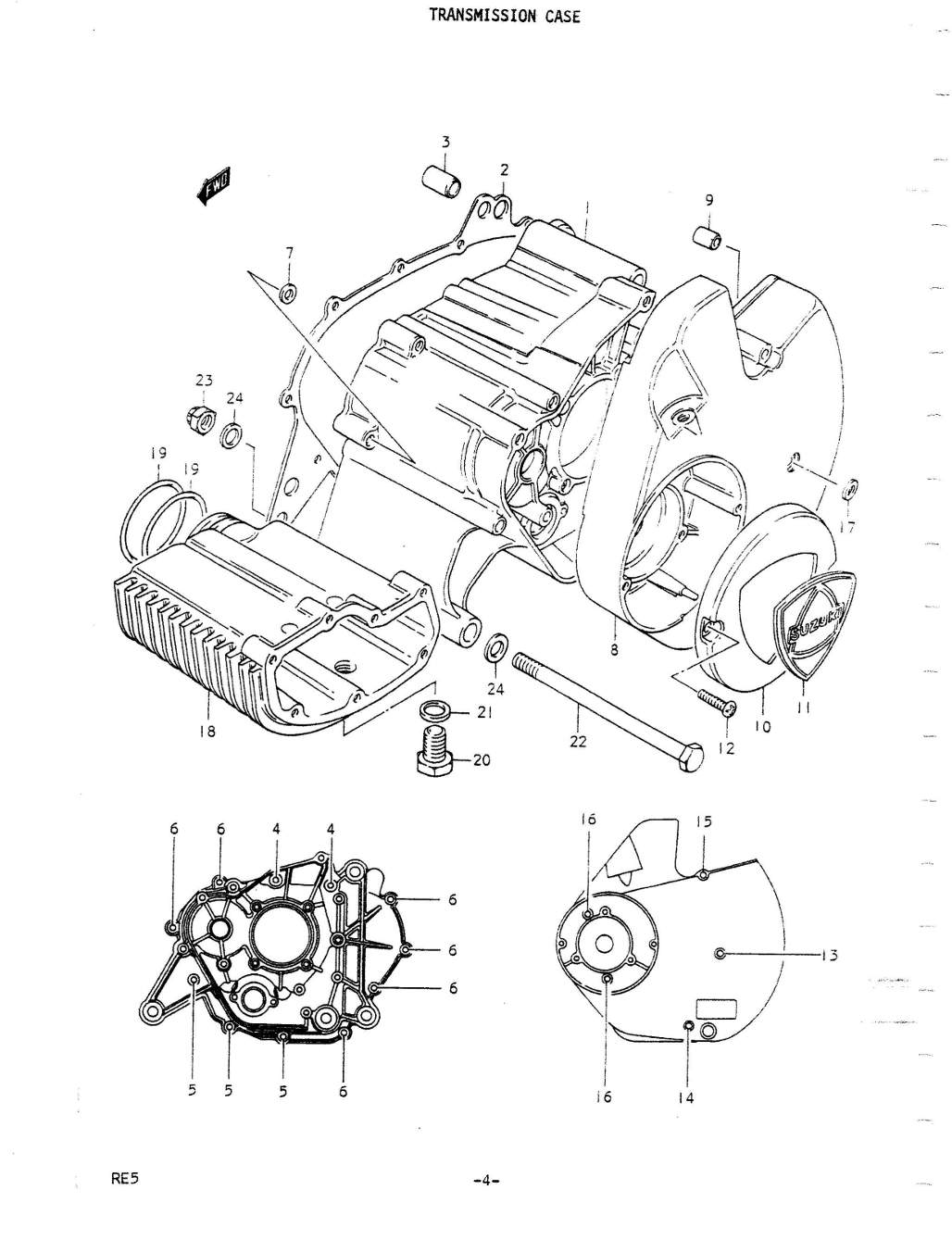 Re5 Parts Manual Auto Engine Diagram Counter Weight Cover